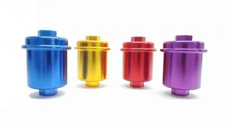 Filtre à carburant de couleur