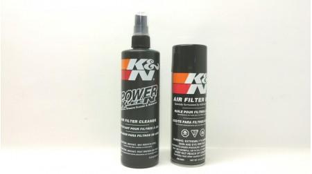 Necessaire d'entretien du filtre a air K&N