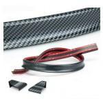 Aileron universel auto collant fibre de carbone