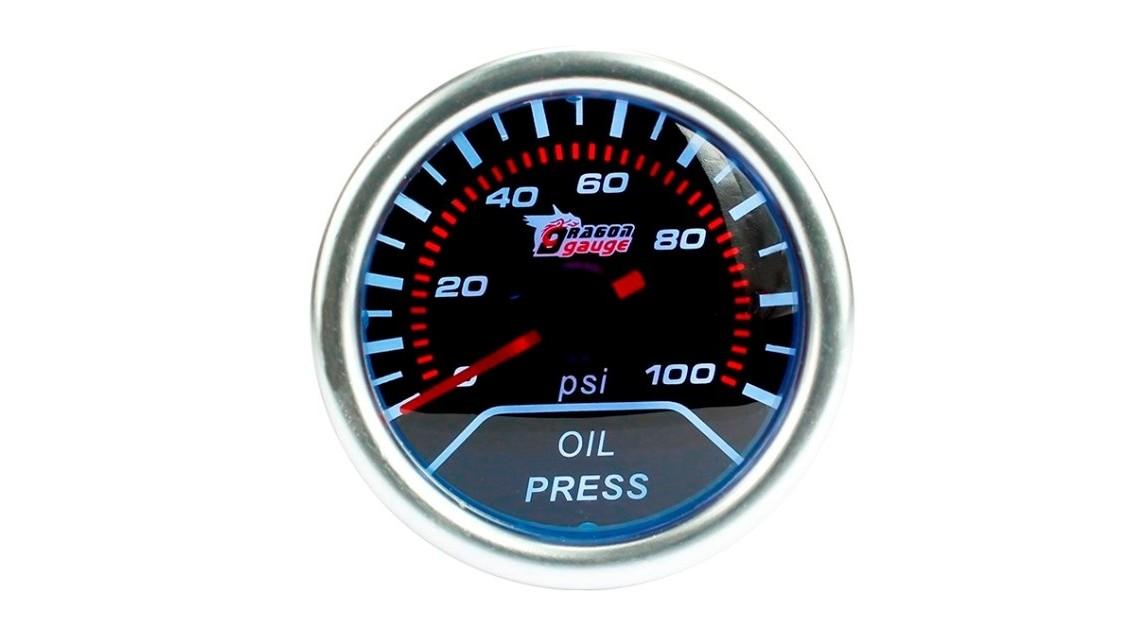 Cadran de pression d'huile moteur