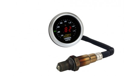 Cadran mélange air/essence Aem wideband