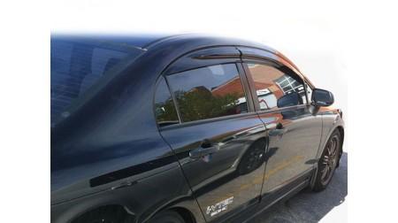 Déflecteurs de fenêtres latérale Mugen Honda Civic 4 portes 2001-05