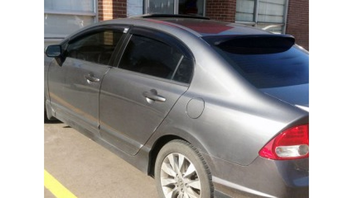 Déflecteurs de fenêtres latérale Acura CSX 2006-11