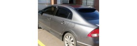 Déflecteurs de fenêtres latérale Acura CSX 06-11