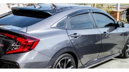 Déflecteurs de fenêtre latérale Honda Civic 4 portes 2016-18 H-Back