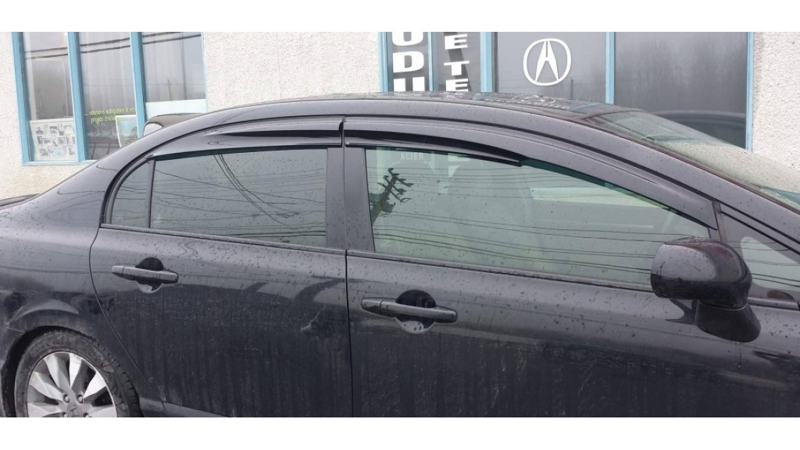 Déflecteurs de fenêtres latérale Mugen Honda Civic 4 portes 2006-11