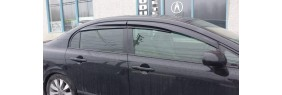 Déflecteurs de fenêtres latérale Mugen Honda Civic 4 portes 06-11