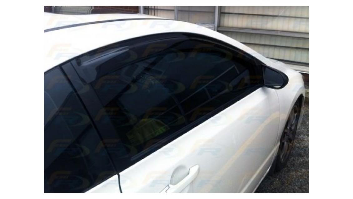 Déflecteurs de fenêtres latérale Honda Civic 2 portes 2012-15