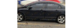 Déflecteurs de fenêtre latérale Mugen Honda Civic 4 portes 2012-15