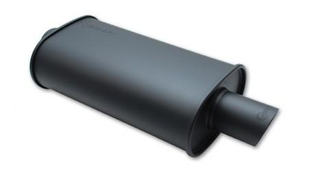 Muffler universel 2.25 pouces Flat black de Vibrant Performance