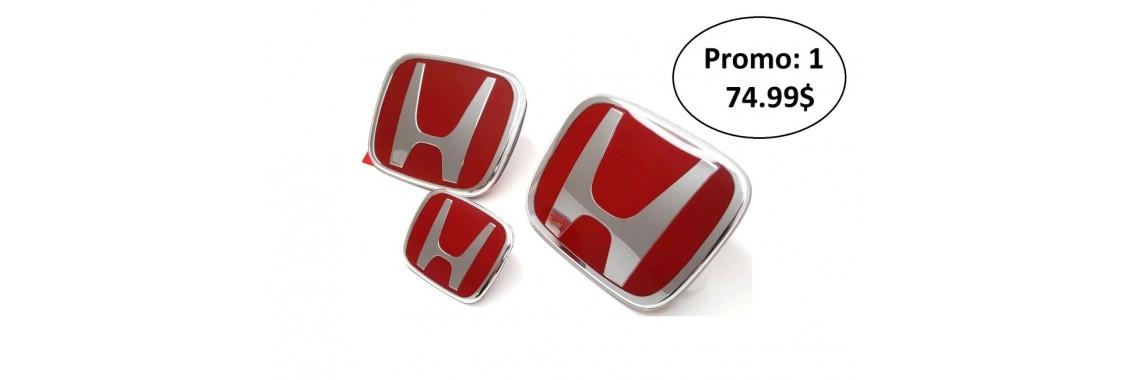 Promo emblèmes type-r