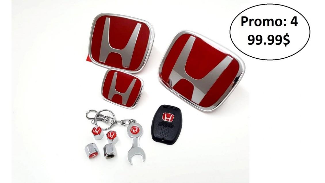 Emblèmes Type-R Honda Promo