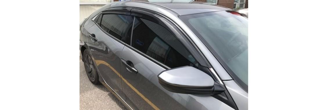 Déflecteurs de fenêtre latérale Mugen  Honda Civic 4 portes 2016-19 H-Back