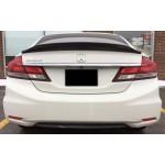 Aileron style Duckbill pour  Honda Civic 2012-15 4 portes