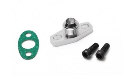 Kit de flange retour d'huile 10AN  turbo ball bearing