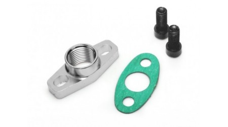 Kit de flange retour d'huile turbo ball bearing