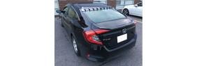 Déflecteur de vitre arrière Honda Civic 4 portes 16-19